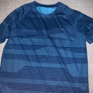 Blue Under Armour shirt - Size M